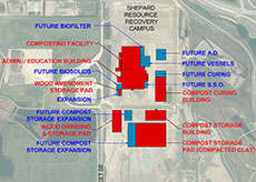 Map of Landfill