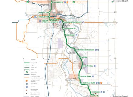 green line lrt phase 1