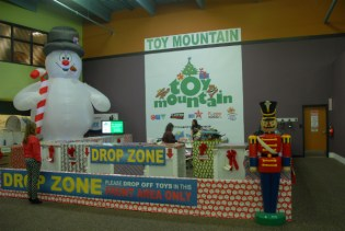 Toy Mountain from afar