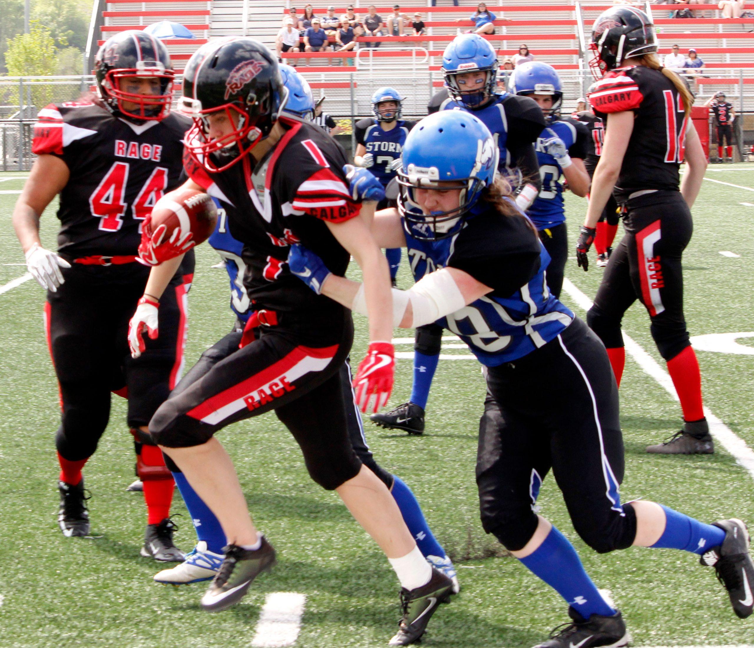 Sports Rage sideline tackle