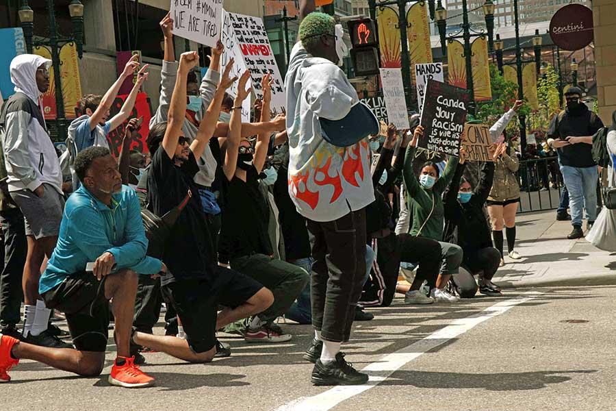Protest Kneeling
