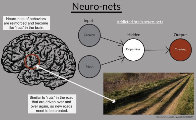 Infographic on neuro-nets.