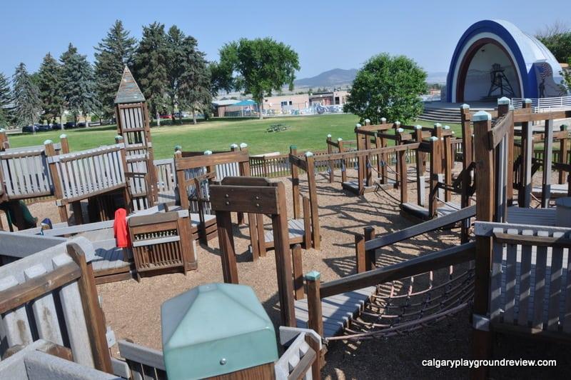 Memorial Park Playground  Helena MT