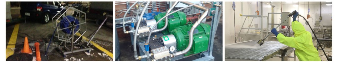 Euro Pumps Cleaning Equipment