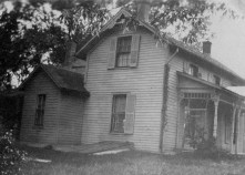 House in Laurence KS where Harold was born in 1919