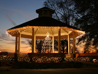 Christmas in Bruce, Gazebo on the Square