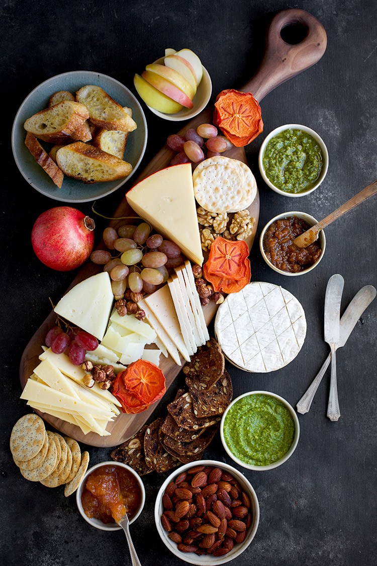 A Cheese Board Idea For Your Next Soire