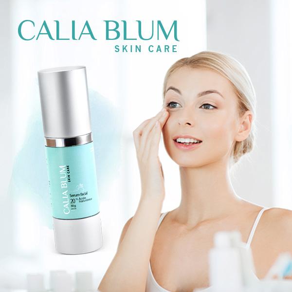imagen del uso de productos Calia Blum
