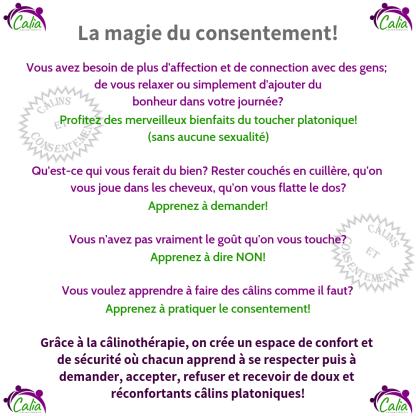 La magie du consentement