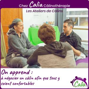 Chez Calia Calinotherapie. On apprend à négocier sans compromettre le consentement.