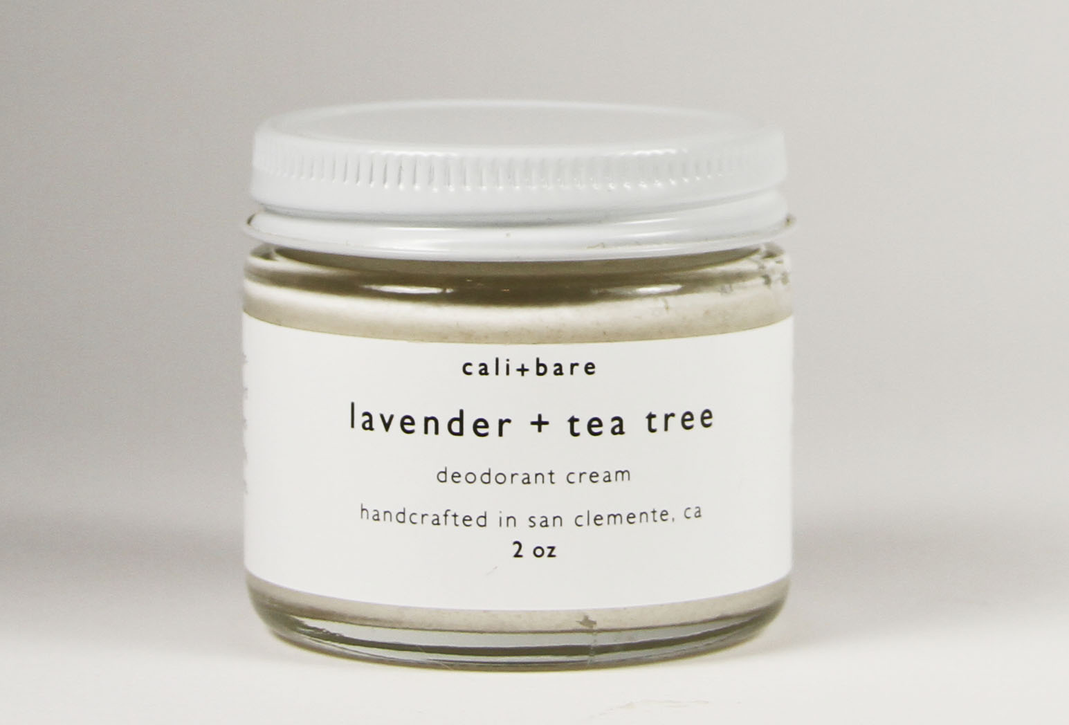 cali+bare Lavender and Tea Tree Deodorant Cream