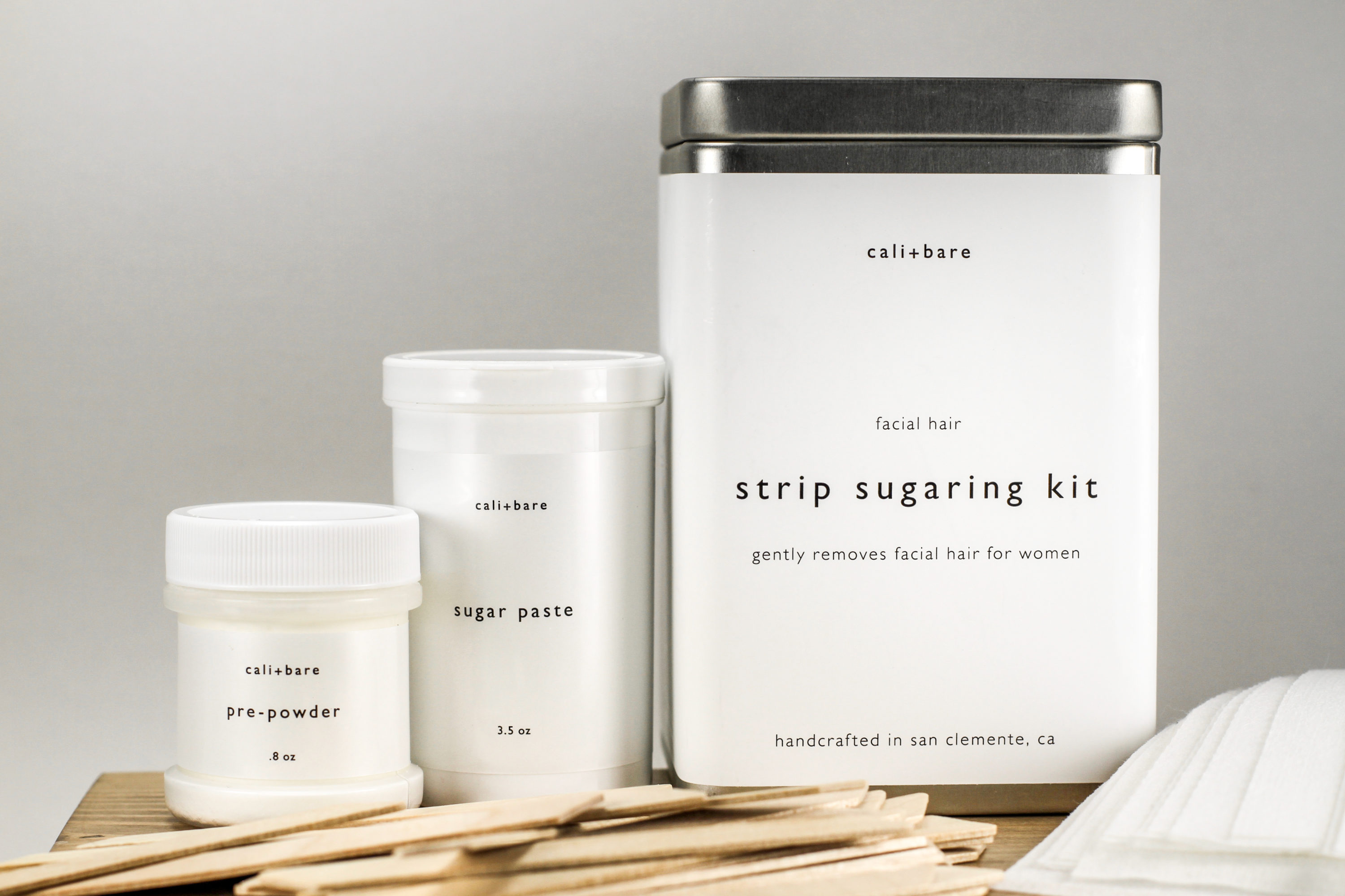 Sugaring hair removal kit