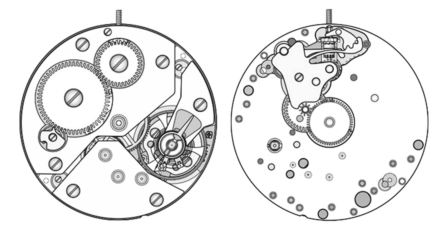 ETA Unitas Caliber 6498-1 VS. 6498-2 Watch Movement