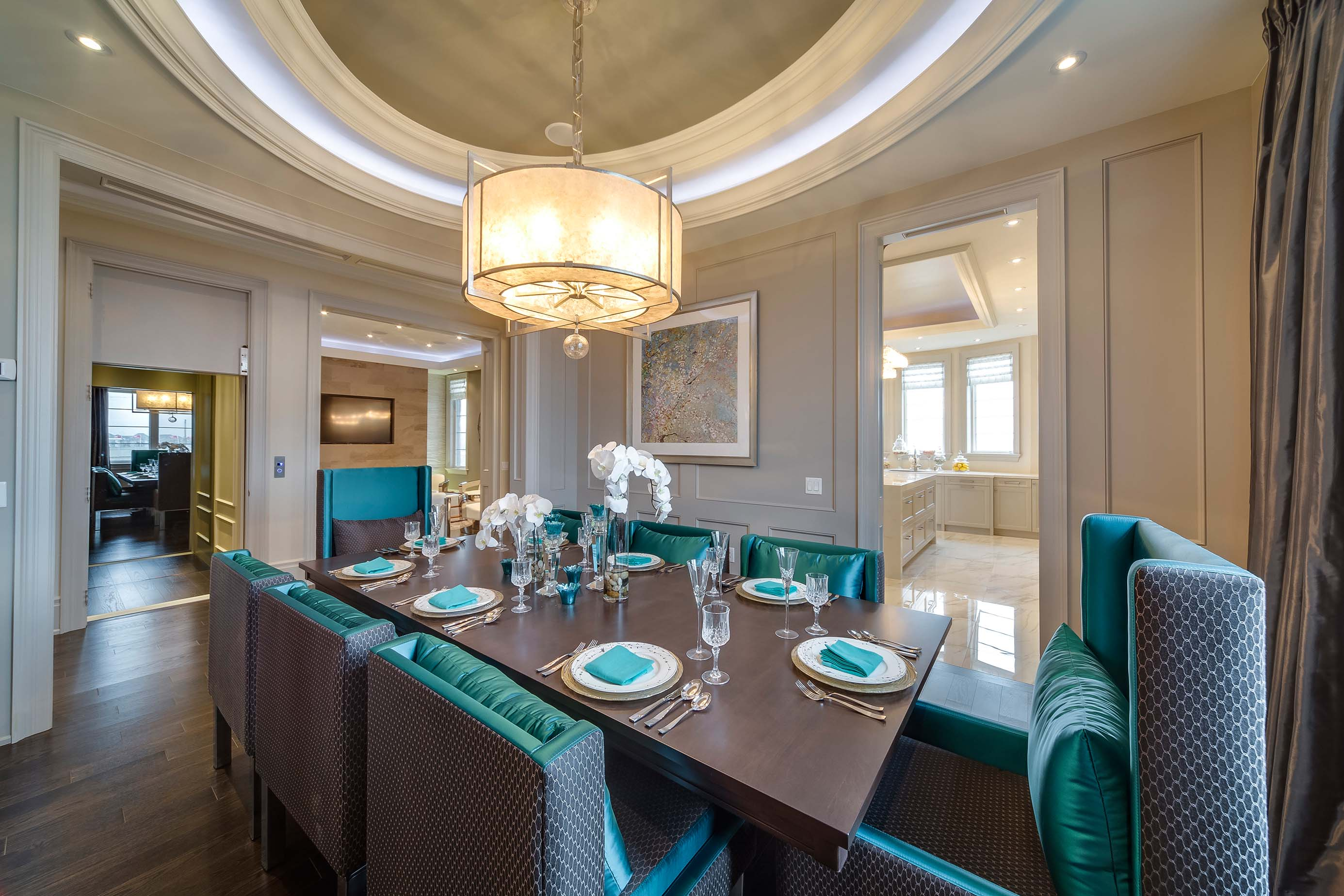 The Latest Trends In Dining Room Lighting  Caliber Homes