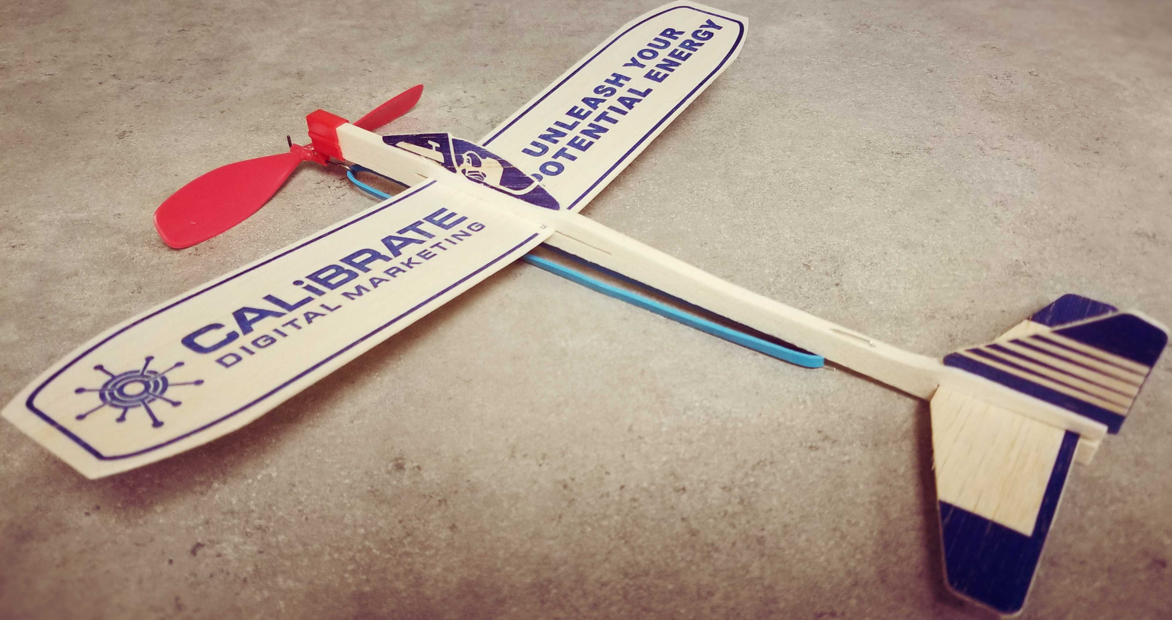 Calibrate Balsa Motorplane - Unleash Your Potential Energy With Internet Advertising in Springfield Missouri