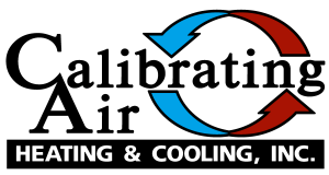 Calibrating Air Heating & Cooling Logo