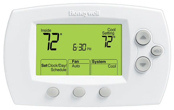 honeywell rth2310b 5 2 day programmable thermostat manual