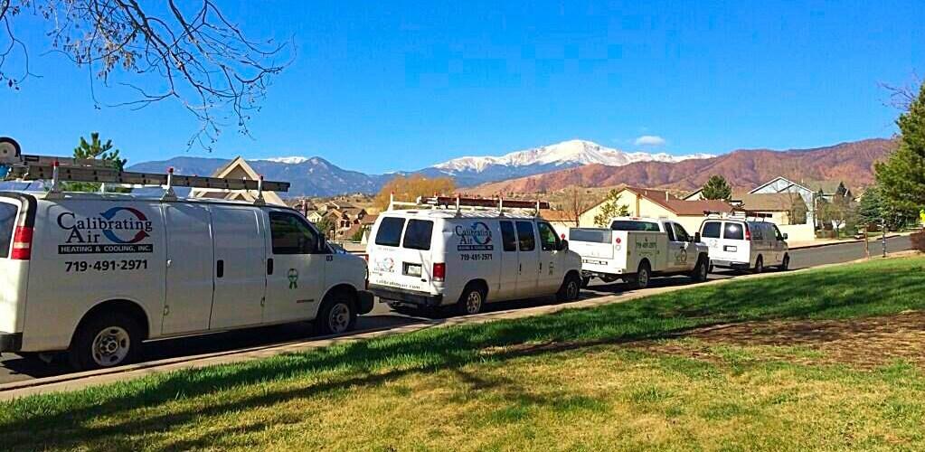 Calibrating Air vans on the job