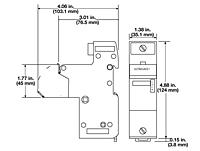 Item # 17-5122, Watlow 100 Amp Semiconductor Fuse Holder