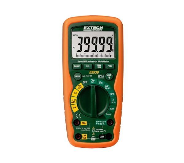 Extech EX530 True RMS Industrial Multimeter