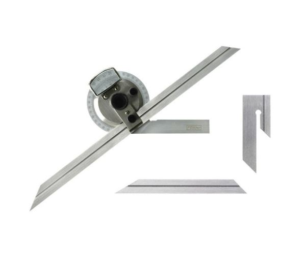Fowler 52-440-612 Bevel Protractor with 6 to 12