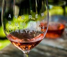 Andrew Murray rose wine