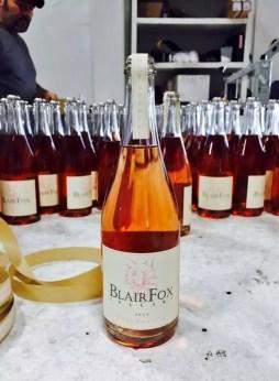 Blair Fox rose wine