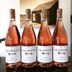 Crawford Family Wines rosé of Grenache