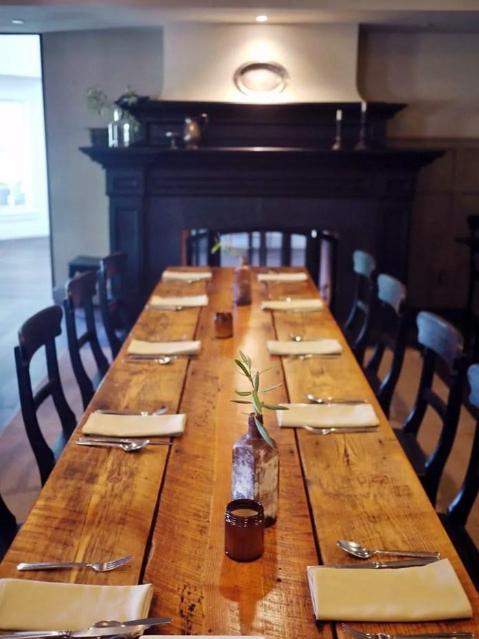 The Gathering Table at Ballard Inn by Liz Dodder