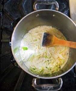 Villa Creek Chef Tim Veatch Soubise by Liz Dodder