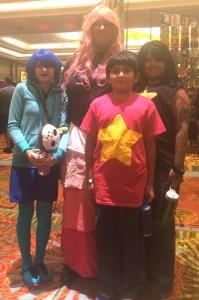 The Happy Universe Family, plus Lapiz