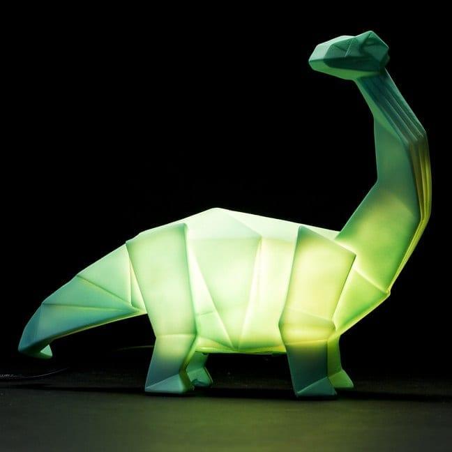 Dippy The Diplodocus Origami Style Dinosaur Lamp