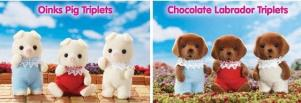 Calico Critters Families 2013