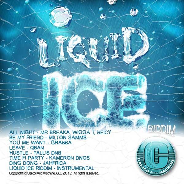 LIQUID ICE RIDDIM CD
