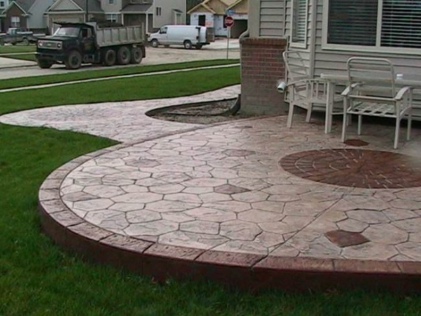 Stamped Concrete Ideas  Stamped Concrete Patio Designs  Calico Construction Products
