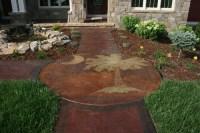 Stamped Concrete Ideas - Stamped Concrete Patio Designs