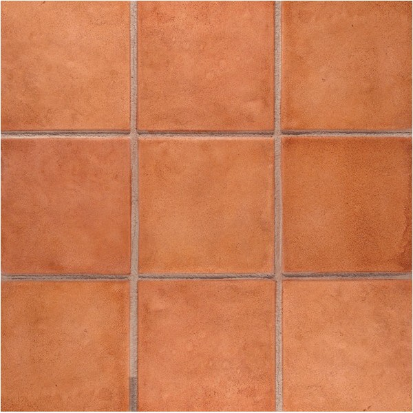 12 x 12 saltillo tile mexican tile with sand grout line concrete stamp