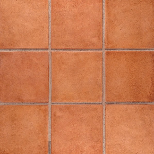 12 x 12 saltillo tile mexican tile with sand grout line package concrete stamp