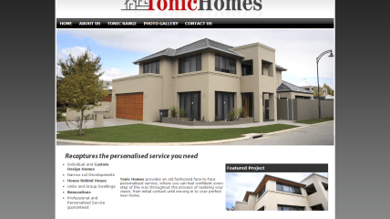 Tonic Homes