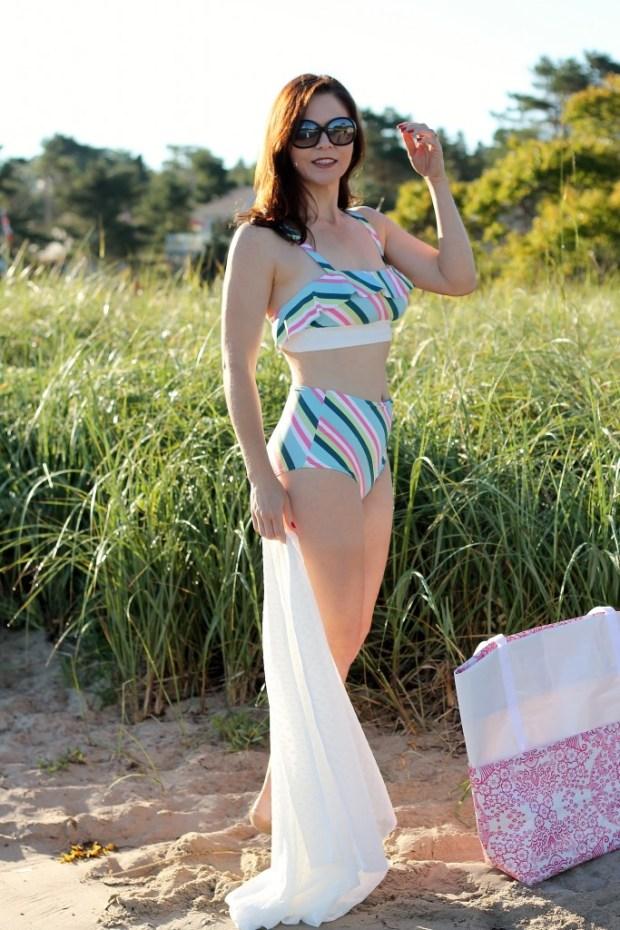 striped bikini 9