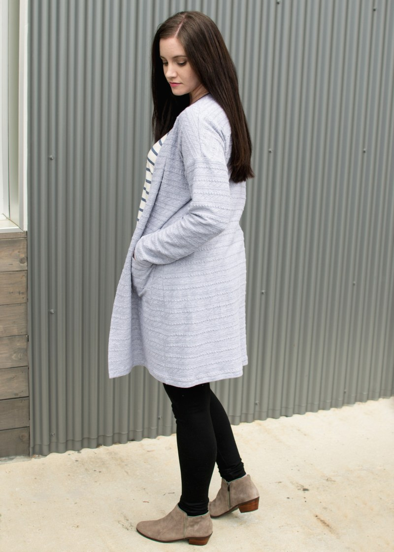 Jenny's Cable Cardigan 3