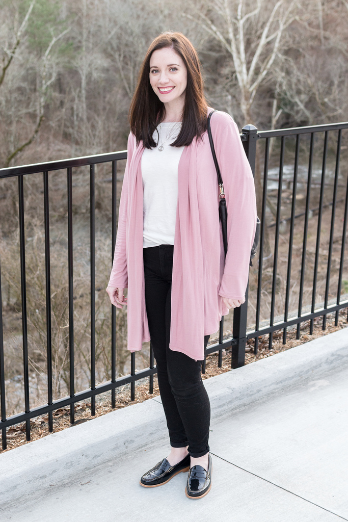 Jenny Maker McCalls 6084 Blush Cardigan 1