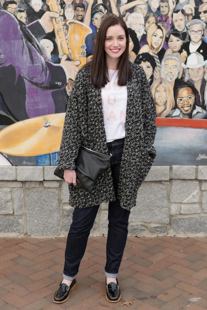 Jenny Maker Named Esme Mottled Coatigan 1