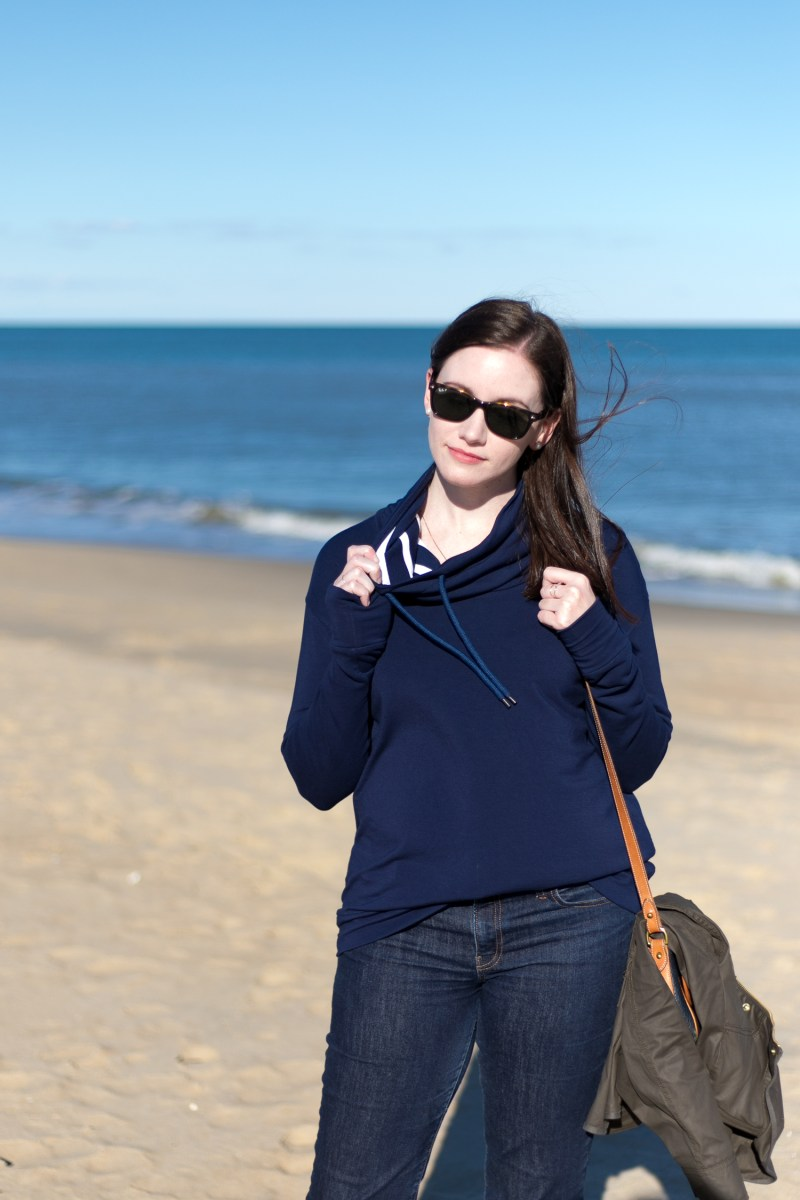 Jenny Maker Navy Hey June Tallinn Sweatshirt (2 of 3)