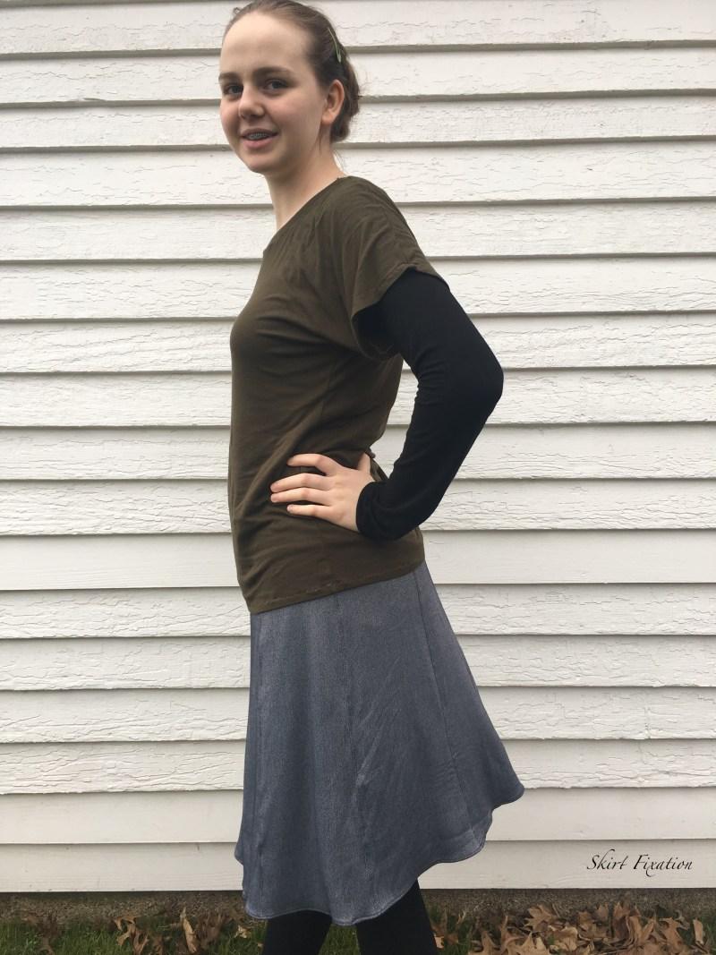 Micro Ribbed knit shirt
