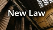 New Law - Senate Bill No. 485