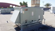 The new packaged heat pump is ready to go!