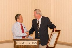 Scholarship Committee Member Minami Honored for 22 Years of Service