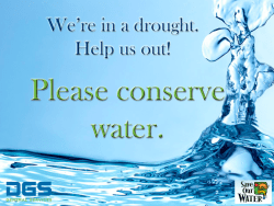 CDFA AWARDS $5.8 MILLION TO ASSIST FARMERS WITH WATER EFFICIENCY AND ENHANCEMENT