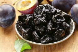 Dried Plum Prices and Production
